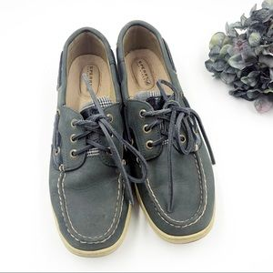 Sperry | Blue Gray Suede Top Siders